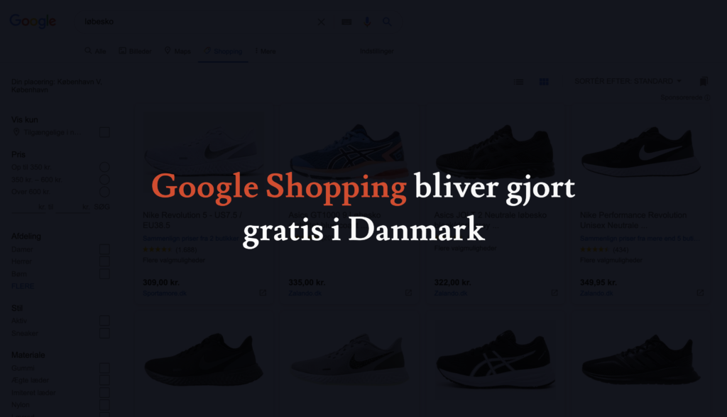 Google Shopping Gratis