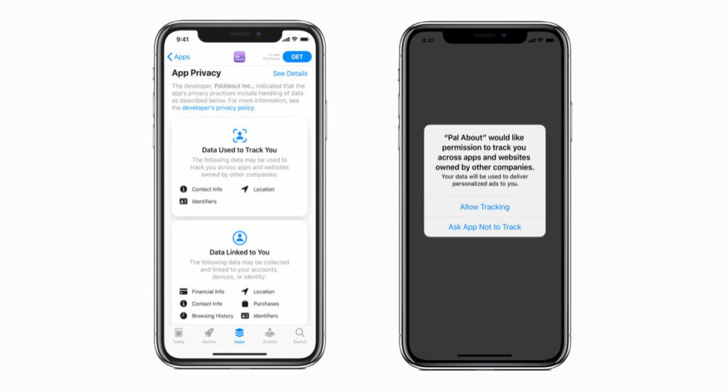 apple tracking prompt