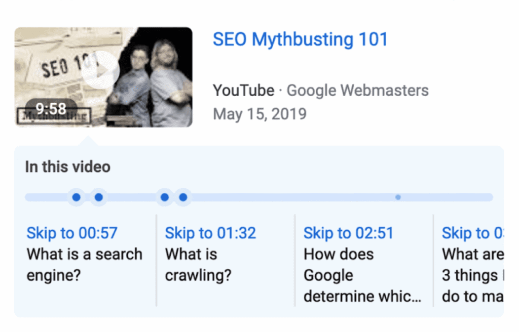 a new way to optimize videos for search